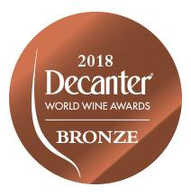 Médaille Bronze Decanter 2018