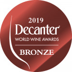 Médaille Bronze Decanter 2019