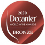 Médaille Bronze Decanter 2020
